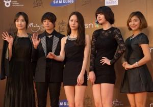 Kpop Golden Disk Awards Red Carpet: F(x)