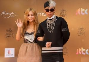 Kpop Golden Disk Awards Red Carpet: Lee Hi