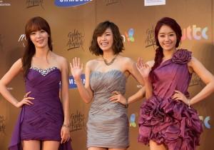 Kpop Golden Disk Awards Red Carpet: Secret