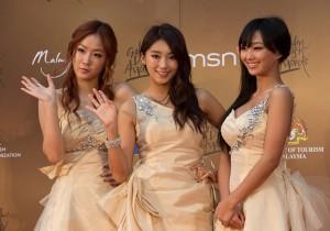 Kpop Golden Disk Awards Red Carpet: Sistar