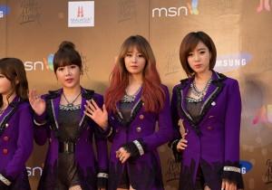 Kpop Golden Disk Awards Red Carpet: T-ara