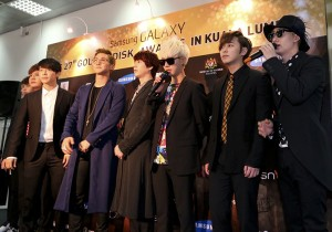 The 27th Samsung Galaxy Golden Disk Awards Press Conference: Shinee & Super Junior