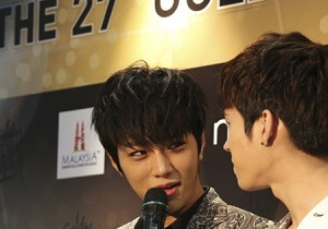 The 27th Samsung Galaxy Golden Disk Awards Press Conference: FT Island & INFINITE