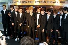 The 27th Samsung Galaxy Golden Disk Awards Press Conference: BTOB & EXO