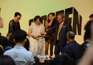 Song Ji Hyo at SHOOPEN grand opening in Malaysia
