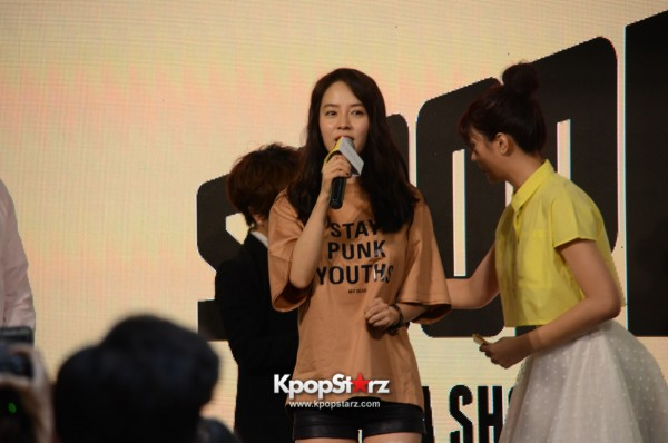 Song Ji Hyo at SHOOPEN grand opening in Malaysiakey=>3 count33