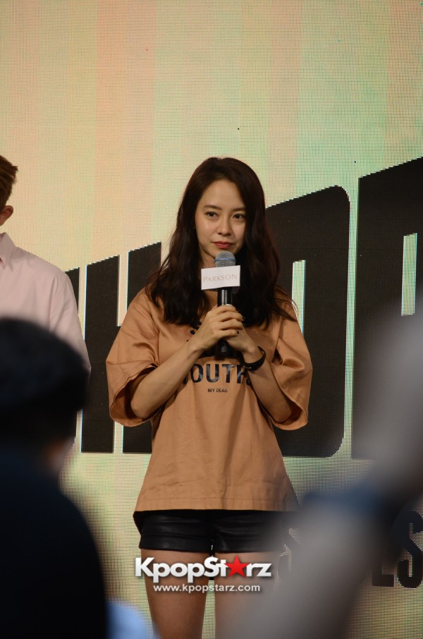 Song Ji Hyo at SHOOPEN grand opening in Malaysiakey=>8 count33