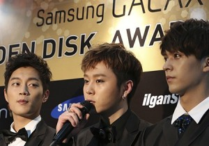 The 27th Samsung Galaxy Golden Disk Awards Press Conference: B1A4 & BEAST