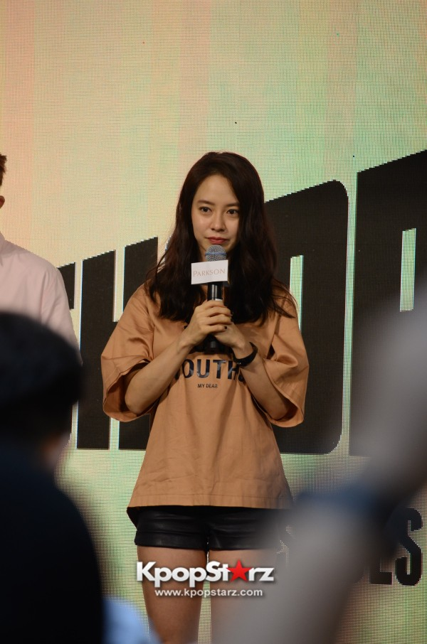 Song Ji Hyo at SHOOPEN grand opening in Malaysiakey=>9 count33