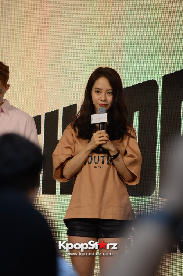 Song Ji Hyo at SHOOPEN grand opening in Malaysiakey=>13 count33