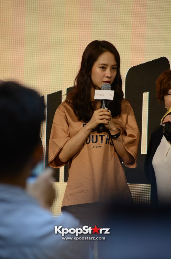 Song Ji Hyo at SHOOPEN grand opening in Malaysiakey=>18 count33