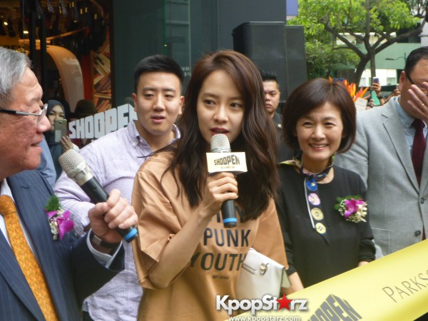 Song Ji Hyo at SHOOPEN grand opening in Malaysiakey=>19 count33