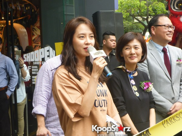Song Ji Hyo at SHOOPEN grand opening in Malaysiakey=>20 count33