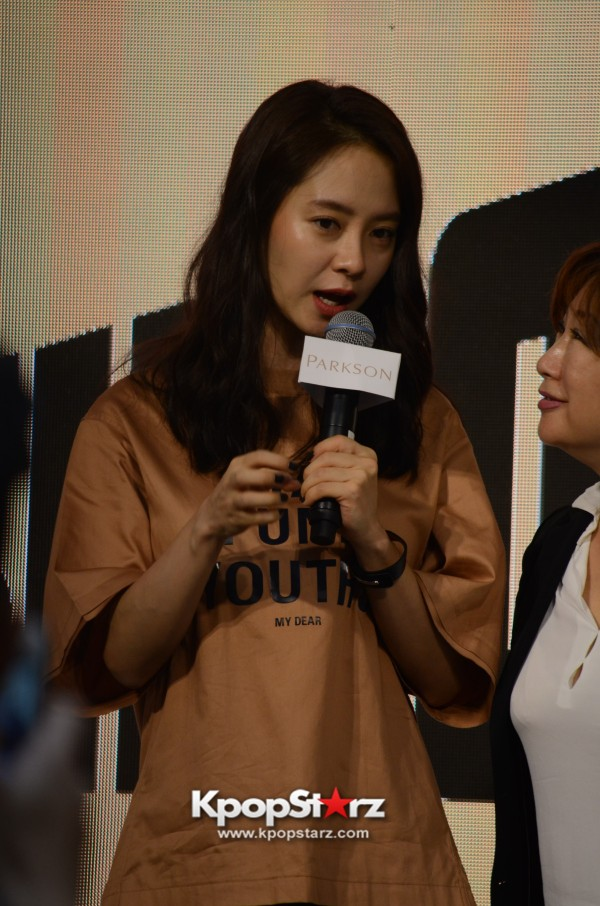 Song Ji Hyo at SHOOPEN grand opening in Malaysiakey=>21 count33