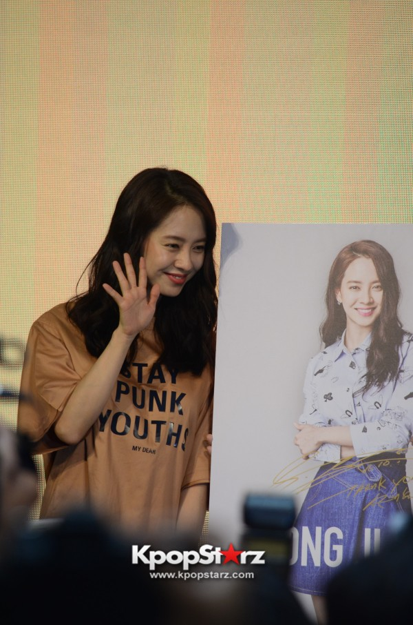 Song Ji Hyo at SHOOPEN grand opening in Malaysiakey=>23 count33