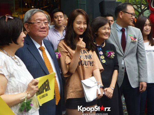 Song Ji Hyo at SHOOPEN grand opening in Malaysiakey=>26 count33