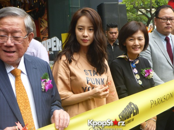 Song Ji Hyo at SHOOPEN grand opening in Malaysiakey=>30 count33