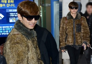 Airport Fashion: TVXQ's Changmin leaving for Concert in Hong Kong