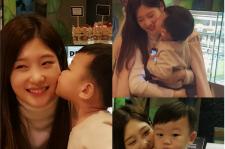 Baby Daebak kisses Jung Chae Yeon of IOI