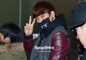Airport Fashion: 'INFINITE H' Leaving for Golden Disk Awards in Kuala Lumpur, Malaysia