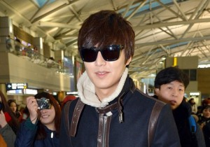 Airport Fashion: Lee Min Ho Leaving to Shanghai, China