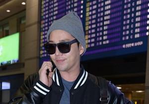 Airport Fashion: 'Super Junior'  Returns to Korea Concluding Golden Disk Awards