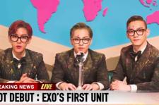EXO's Baekhyun, Xiumin, and Chen