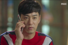 Bok-Geu calls Geum-Joo twice, making her irritated in the episode 8 of