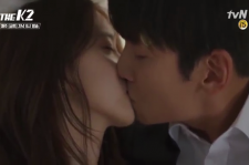 The romantic kissing scene between Je-Ha and Anna is enough to ease the tension in the high pace