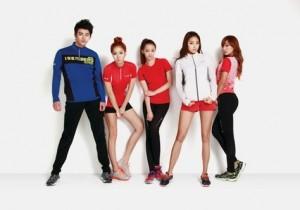 sistar seo in gook chosen as isenberg models