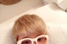 youngjae self-camera before golden disk