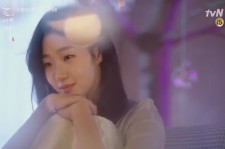 "Kim Go-Eun in the still image of the tvN upcoming drama ""Goblin"" teaser trailer."