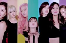 Seven members of Rainbow in the MV of