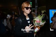 Airport Fashion: 'BtoB' Returns to Korea Concluding Golden Disk Awards