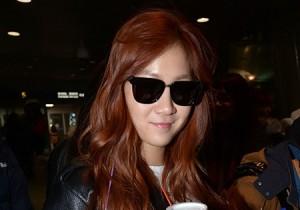 Airport Fashion: 'Sistar' Returns to Korea Concluding Golden Disk Awards