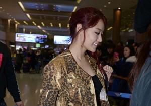 Airport Fashion: 'Secret' Returns to Korea Concluding Golden Disk Awards