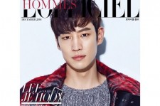 Actor Le Je-Hoon as a model for the cover of 'L'Officiel Hommes Korea.