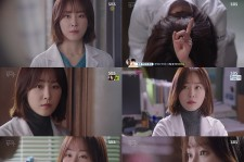 Still image of Seo Hyun-Jin as as young doctor Seo-Jung Tin the SBS drama
