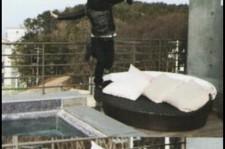 lee jun ki falling self-camera