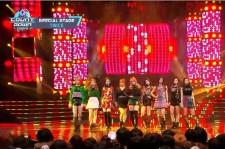 TWICE performing Wonder Girls'