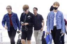 BTS off to France last June.