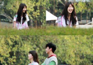 kim soo hyun and suzy filming at bangkok