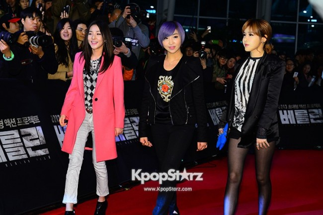 'The Berlin' VIP Movie Premiere Directors & Celebs Red Carpet: 2NE1key=>1 count6