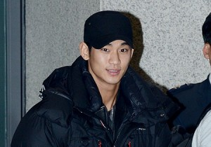 Airport Fashion: Kim Soo Hyun Returns to Korea Concluding Commercial Shoot for Bean Pole Outdoor in Thailand