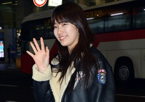 Airport Fashion: Suzy Returns to Korea Concluding Commercial Shoot for Bean Pole Outdoor in Thailand