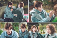 "Good chemistry between Lee Sung-Kyung and Nam Joo-Hyuk in the ""Weighlifting Fairy Kim Bok-Joo"" drama."