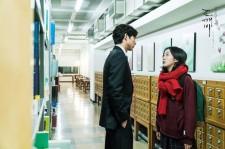 """Kim-Shin the Goblin (Gong-Yoo) with his bride Eu-Tak (Kim Go-Eun) in the tvN drama """"Goblin."""""""