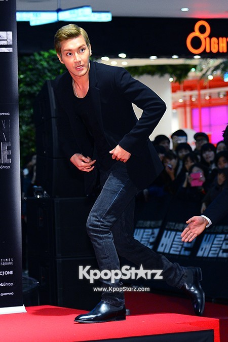 'The Berlin' VIP Movie Premiere Directors & Celebs Red Carpet: Super Juniorkey=>3 count6