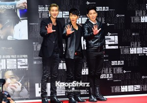 'The Berlin' VIP Movie Premiere Directors & Celebs Red Carpet: Super Junior