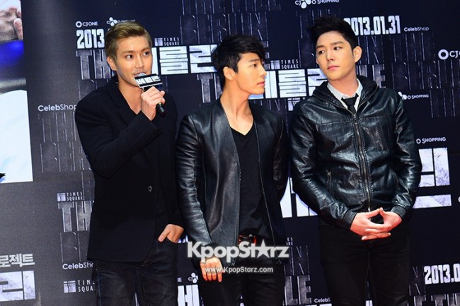 'The Berlin' VIP Movie Premiere Directors & Celebs Red Carpet: Super Juniorkey=>5 count6